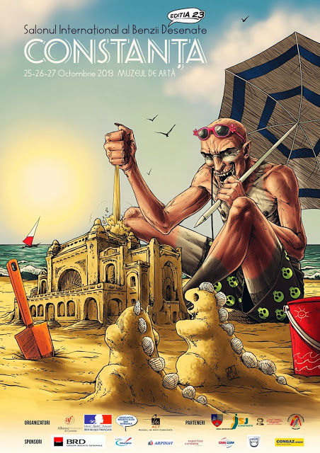 Salonul Internaţional al Benzii Desenate din România