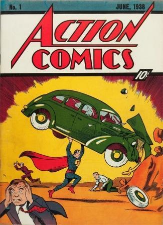 nr 1 Action Comics 1938