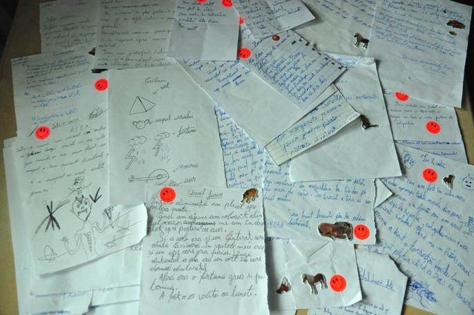 povesti scrise de copii centru plasament