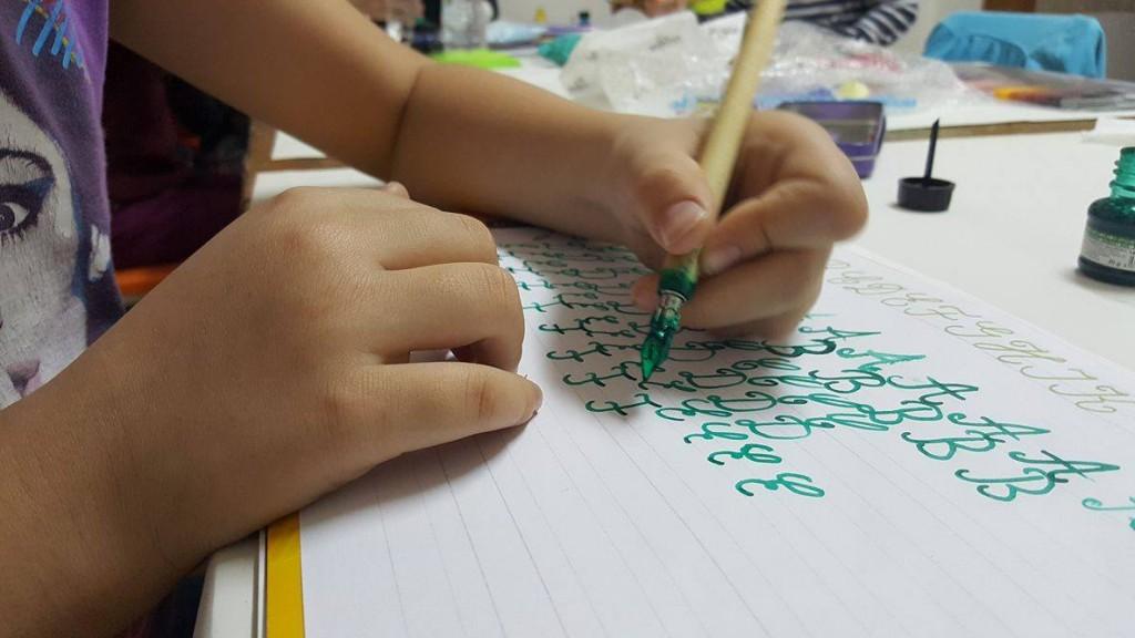 caligrafie copii 8