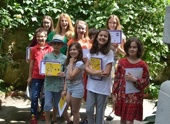 atelierul de scriere creativa pentru copii cu adina rosetti editia 8